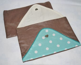 coated canvas pouch