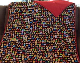 Emojis blanket