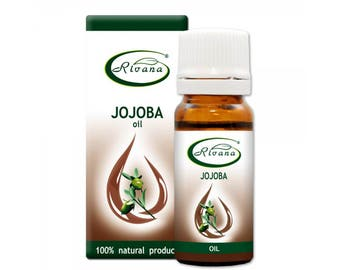 Jojoba Oil Carrier Base Oil Pure Premium Quality 10/100 ml Aromatherapy 100% Natural Vegetable oil / Essential oils Without Preservatives
