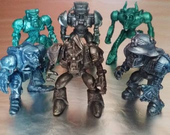 Set of 6 soldiers, Cyborgs