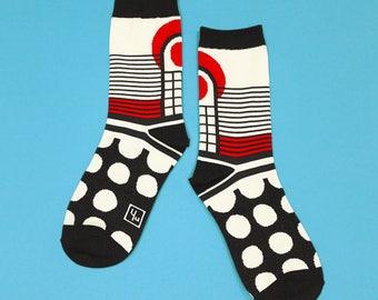 Firefly Black Unisex Crew Socks   mens socks    womens socks   colorful fun & comfortable socks