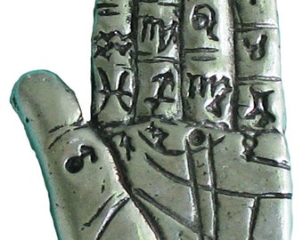 Palmistry Hand Pendant