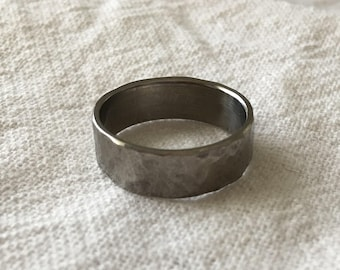 Titanium Ring Wedding Band(s) - handmade