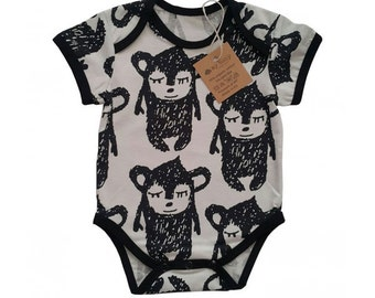 Organic cotton Little Hippu bodysuit