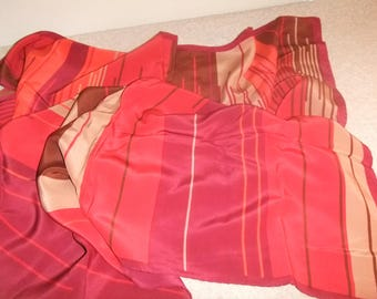 Scarf Vintage Made in Italy 100% Silk    #16