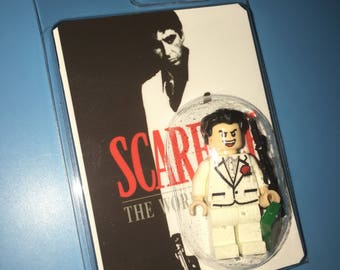 SCARFACE Hollywood AL PACINO Custom Crime Lord Movie Minifigure