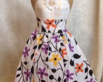 Vintage Fashion Doll Skirt