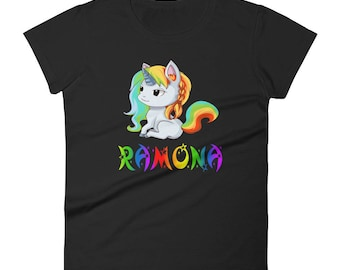 Ramona Unicorn Ladies T-Shirt