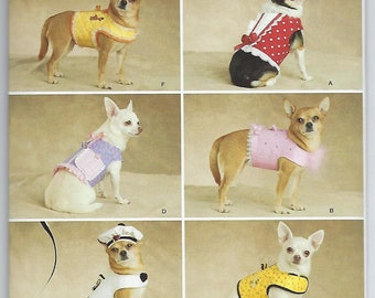 Simplicity 2393 - Dog Clothes / XXS, XS, S, MED