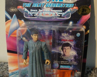 Star Trek The Next Generation Data as a Romulan 1993 Action Figure