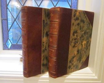 Oakland und Umgebung 1907. Historische Hardcover Leder gebundene Bücher. Sammlerstück.   Geschichte des US-Bundesstaat Kalifornien biographische Datensatzes