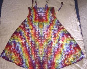 6155 Large Rayon Long Ribbon Strap Dress
