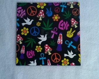 Peace Love Magnet