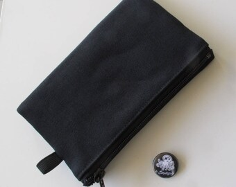 Tobacco wear in black jeans/black jeans tobacco CASE