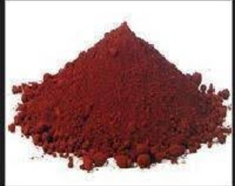Brick Red Iron Oxide Pigment Powder Dye Color Additive FE203