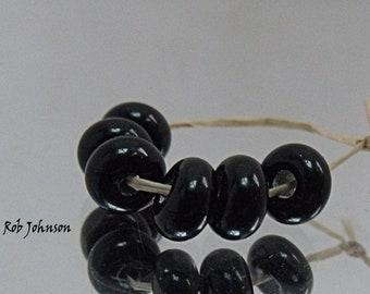 Periwinkle, Artisan Lampwork Glass Beads, SRA, UK