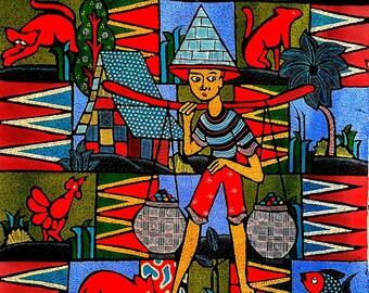 Bali    Batik      Vintage    Painting