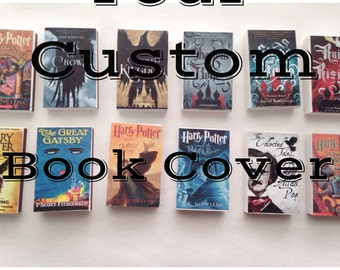 Your Custom Book Matches // Your Favorite Book // Stocking Stuffers