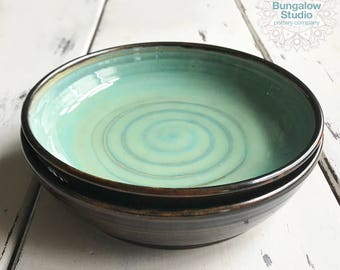 Ceramic Pasta Bowl, Pottery Bowl, Ceramic Salad Bowl