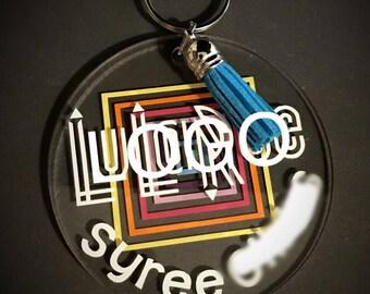 Personalized Lula Inspired Keychain
