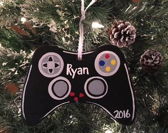 Hand-painted Game Controller Ornament
