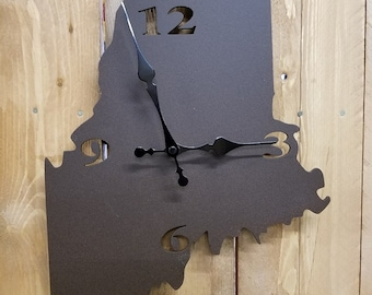 State of Maine wall clock
