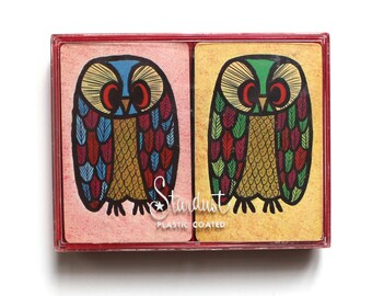 Stardust Hotel Owl Playing Cards Set