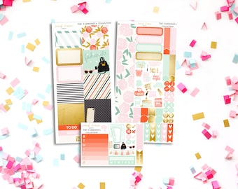 FINAL SALE Fashionista Personal Weekly Kit - stickers to fit Filofax, Kikki K and more!
