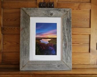 """Succulent Splendor: 8x12"""" print framed in reclaimed wood"""