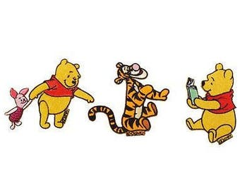 Winnie the Pooh Disney hang up patch hangers pictures 3Stück different motifs