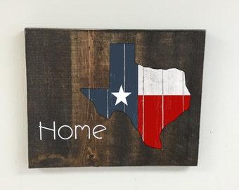 Texas Wall Art Decor