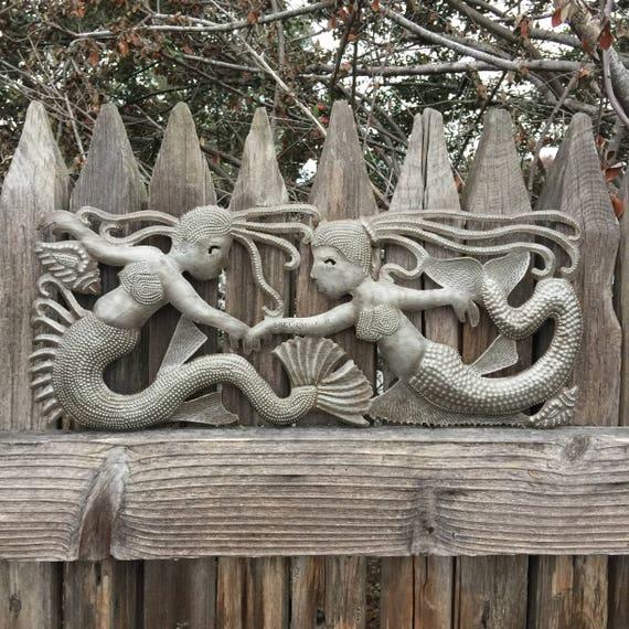 "Sea Sisters Mermaids Beach Home Decor 6"" x 17"""