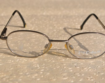 adorable vintage ICECREAM 9045 79 43-17 125  dark silver grey small eye / sunglasses frame made in Italy New