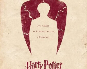"""Harry Potter Half Blood Prince Print  With Free Alternative """"Half-Blood Prince"""" Print"""