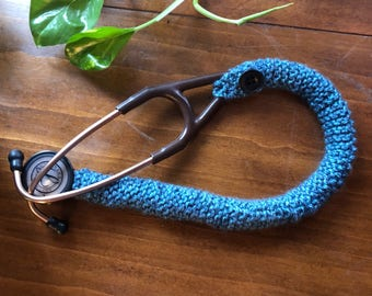 "27"" knitted stethoscope cover"