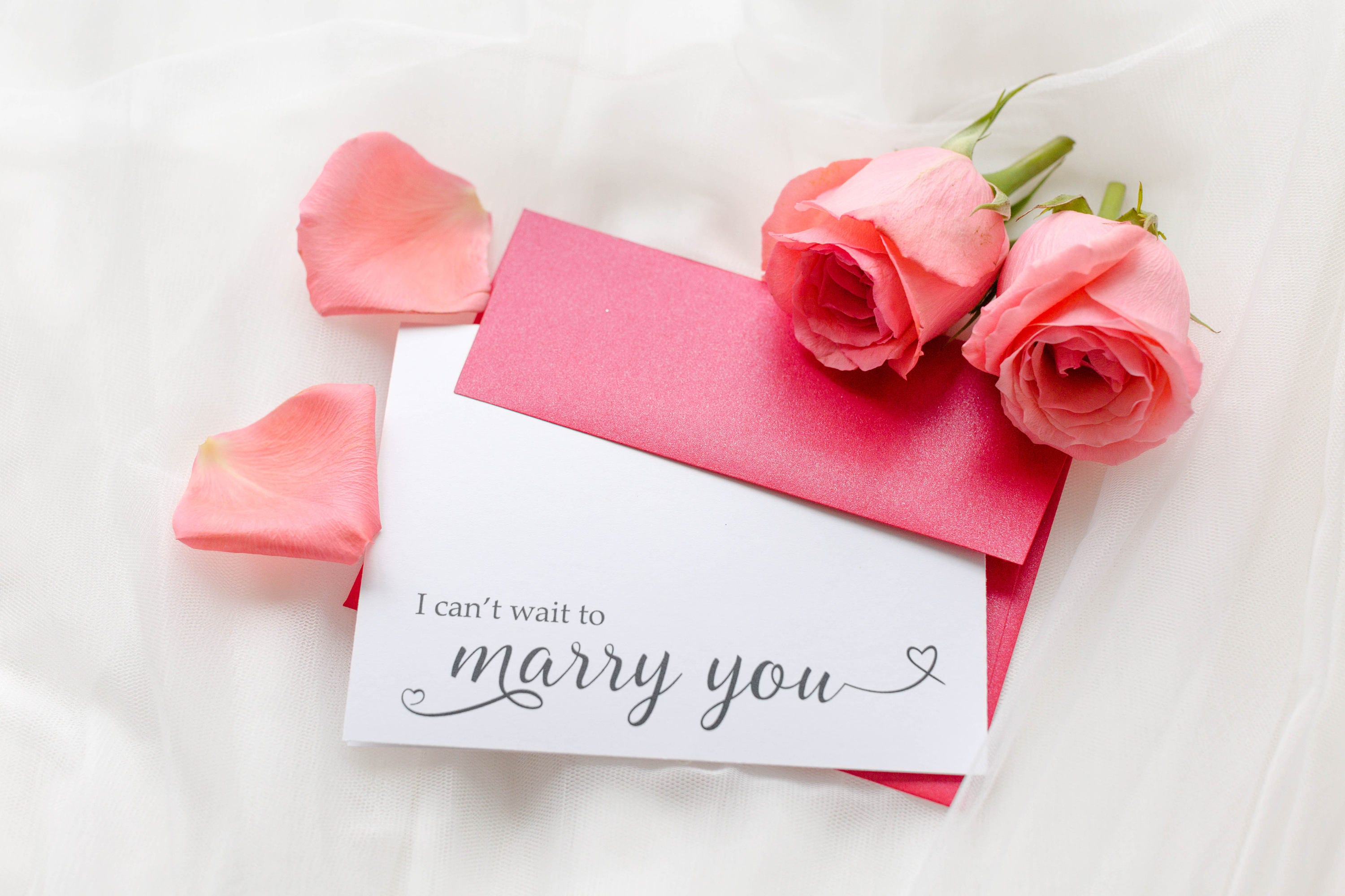 I Can\'t Wait to Marry You Card Wedding Day Card Bride to