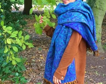 40% off sale!!Paisley pattern scarfs,blanket scarfs,winter wraps,scarfs,warm winter shani shawls,shanti blankets,paisley