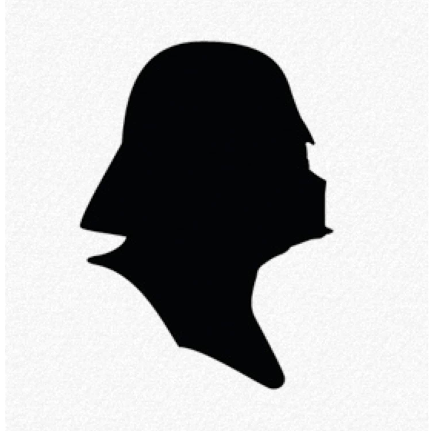 Pack Of 3 Darth Vader Stencils Made From 4 Ply Mat Board