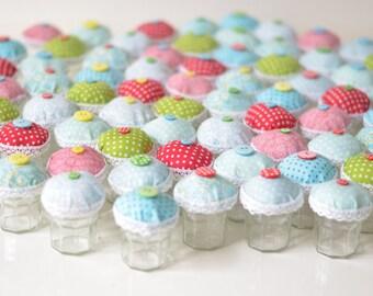 Set of 75 Cupcake Jars Small size