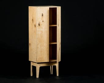 Kesselhaus plywood coctail cabinet