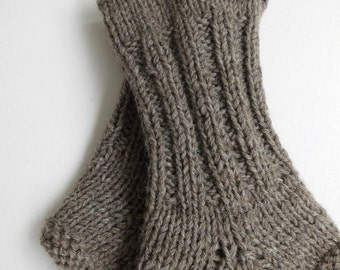 Leg warmers women's hand knitted