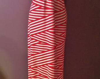 Ladies Strapless Maxi Dress - made to order, custom, you choose fabric