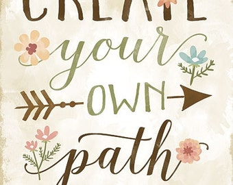 Arrows,Childs Wall Decor,Create Your Own Path,Wooden Art Plaque, 12x16,Mollie B.