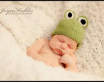 Ribbit- frog hat