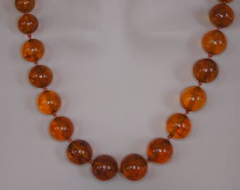 Baltic Amber Necklace- Russian Amber- Genuin Amber