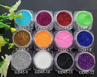 3g/1Jar Cute 1/96 Nail Art Glitter Nail Art Glitter Decoration GD45