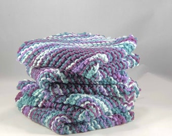 Knitted Wash Clothes