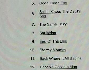 "Allman Brothers--""Starlake Concert Series""--9-01-1995"