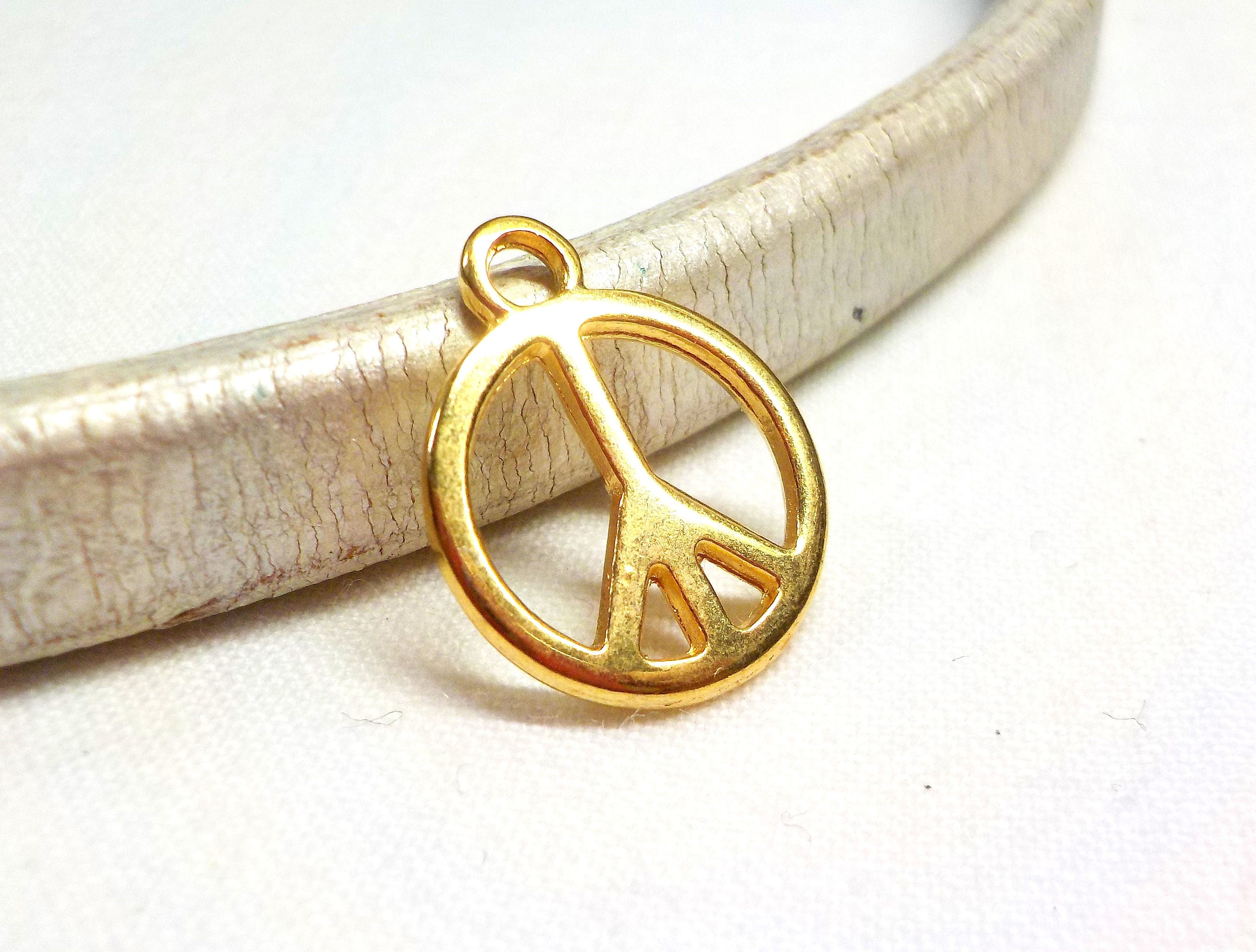 necklace zirconia peace sign silver over free cubic shipping orders overstock cz sterling on product pendant small jewelry watches