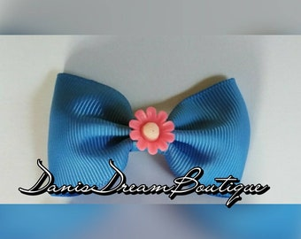 Custom hair bow clip